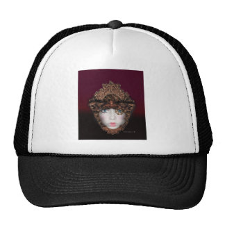 gold crusted trucker hat