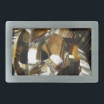 "Gold Crystal Mineral Stone Belt Buckle<br><div class=""desc"">Stones and minerals are a hot new trend for the year!  This print features and up close image of a sparkling gold geode stone,  complete with little crystals.</div>"