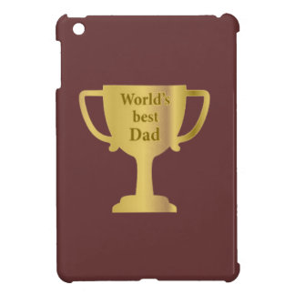 Gold Cup World's Best Dad iPad Mini Cases
