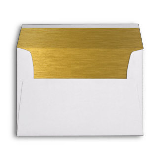 Gold Custom Envelope