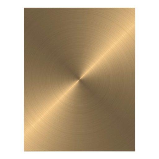 Gold Custom Letterhead