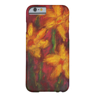 Gold Daffodils in Pink iPhone 6 case