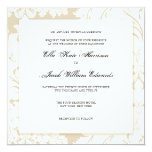 Gold Damask Collection | Wedding Invitation