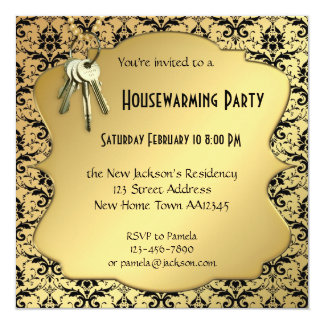 Elegant Housewarming Party Invitations Announcements Zazzle