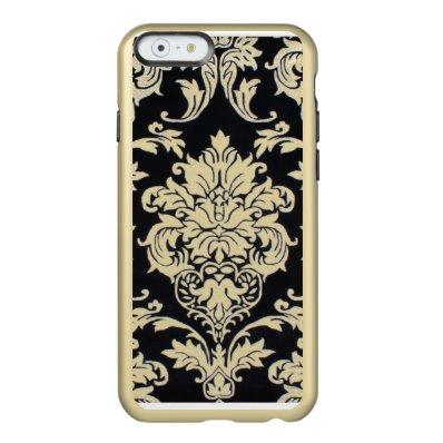 Gold damask iphone 6 case