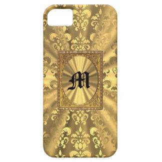 Gold damask iPhone SE/5/5s case