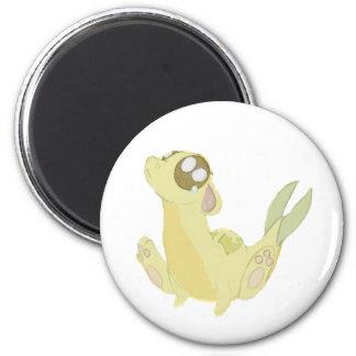 Gold Dawgon Magnet