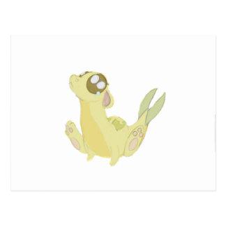 Gold Dawgon Postcard