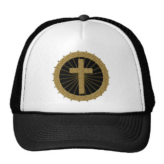 GOLD DECORATIVE CROSS HATS