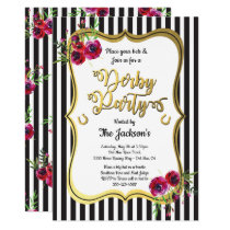 Gold Derby Horse racing Party Invitations