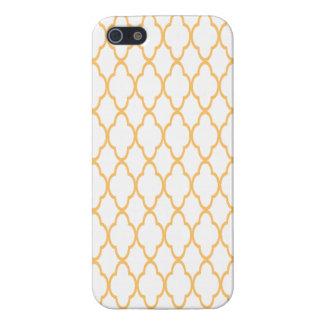 Gold design iphone case