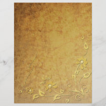 Gold Detail Letterhead