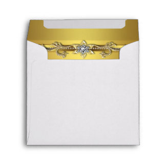 Gold Diamond Envelope