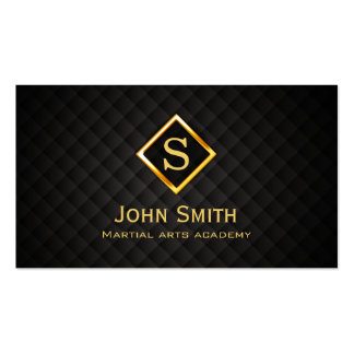 Gold Diamond Martial Arts Business Card