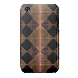 Gold Diamond Pattern iPhone 3G Case