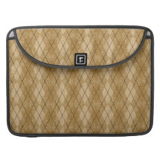 Gold Diamonds Argyle Pattern Macbook Pro 15