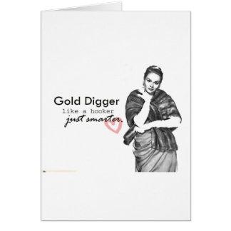 gold digger card