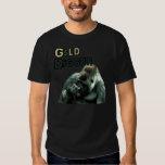 GOLD DIGGER Funny Nose picking Gorilla T Shirt