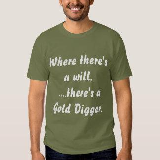 """Gold Digger"" Humor and Fun - Shirt"