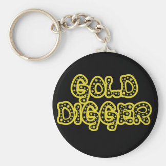 Gold Digger Key Chains