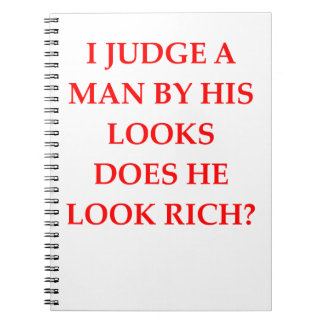 gold digger note books