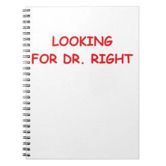 gold digger spiral note book