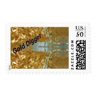 Gold digger postage
