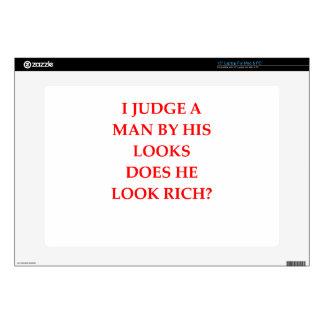 """gold digger 15"""" laptop decal"""