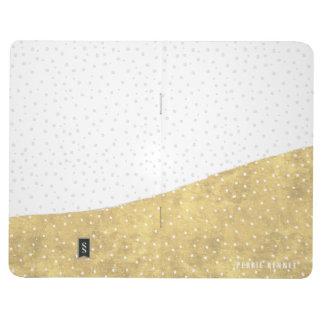 Gold Dipped Winter Wonderland   Bound Journal