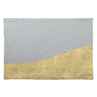 Gold Dipped Winter Wonderland | Placemat
