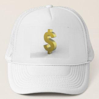 Gold Dollar Sign Hat
