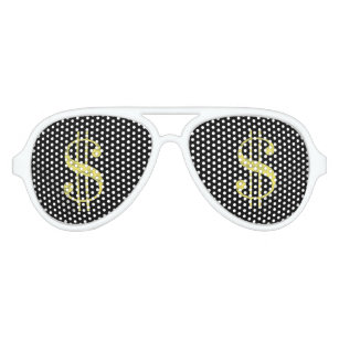 976673ed51 Gold   Dollar Signs Bling Party Favor Sunglasses
