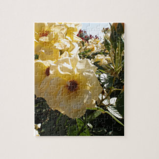 Gold Dot Roses Jigsaw Puzzle
