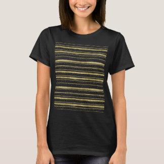Gold Dots Stripes T-Shirt