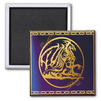 Gold Dragon 1 Magnets