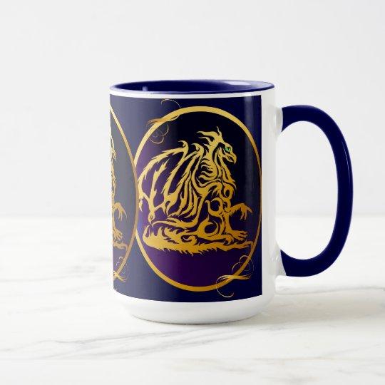 Gold Dragon 1 Mugs