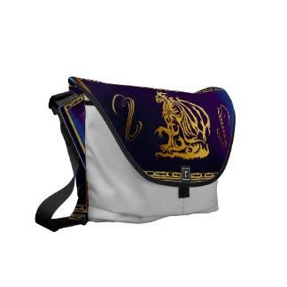 Gold Dragon 1 Rickshaw Messengerr Bag