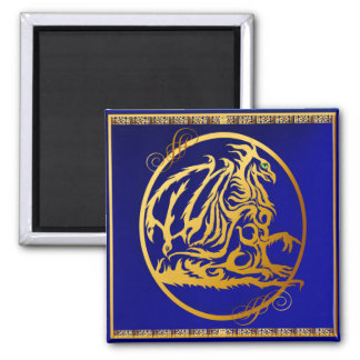 Gold Dragon 2 Magnets