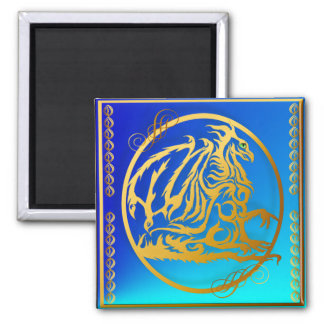 Gold Dragon 3 Magnets