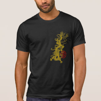 Gold Dragon and Respect Mark T-Shirt