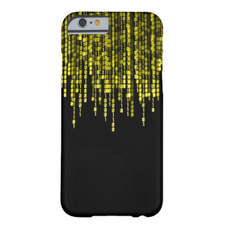 Gold Dragon Binary Program Code Barely There iPhone 6 Case