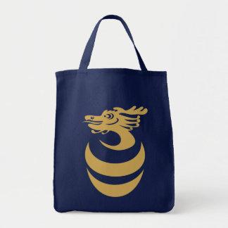 Gold Dragon in Egg Bag