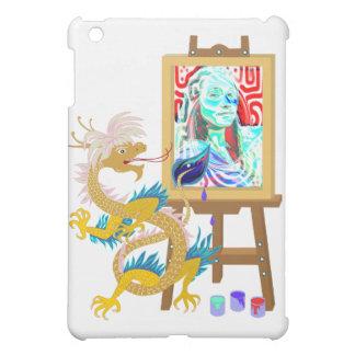 Gold Dragon paints your portrait on IPad Case