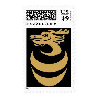 Gold Dragon Postage