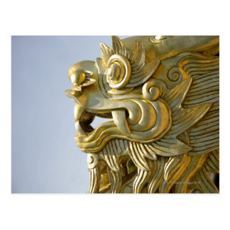 Gold Dragon Post Cards
