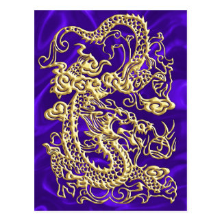 Gold Dragon Satin Lush Gold Card