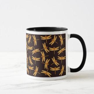 Gold Dragonflies Mug