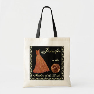 GOLD Dress - Mother of the Bride - Tote Bag