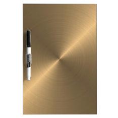 Gold Dry-erase Board at Zazzle