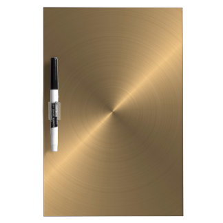 Gold Dry-Erase Board